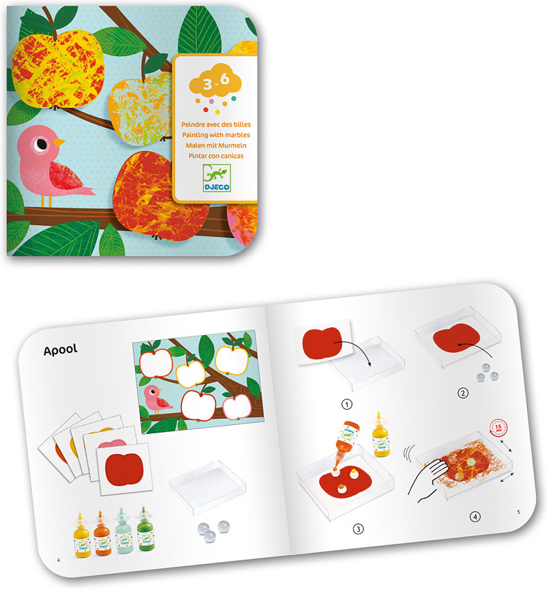Nature Marble Painting Kit-2