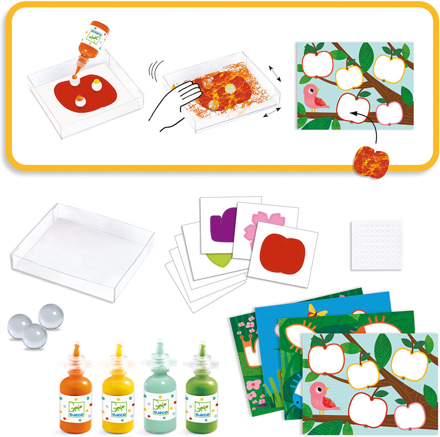 Nature Marble Painting Kit-3
