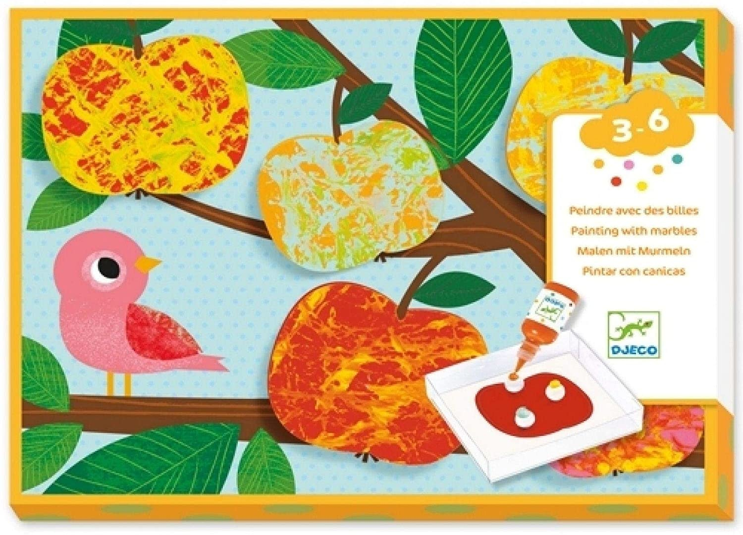 Nature Marble Painting Kit-1