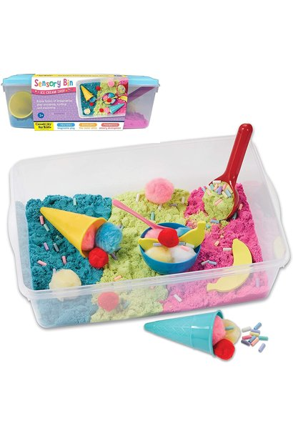 Sensory Bin Ice Cream Shop