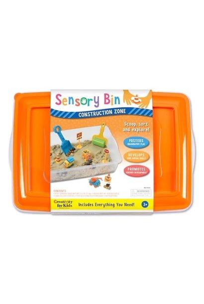 Sensory Bin Construction Zone