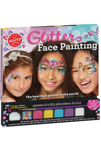 Glitter Face Painting by Klutz