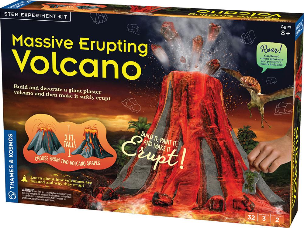Massive Erupting Volcano-1