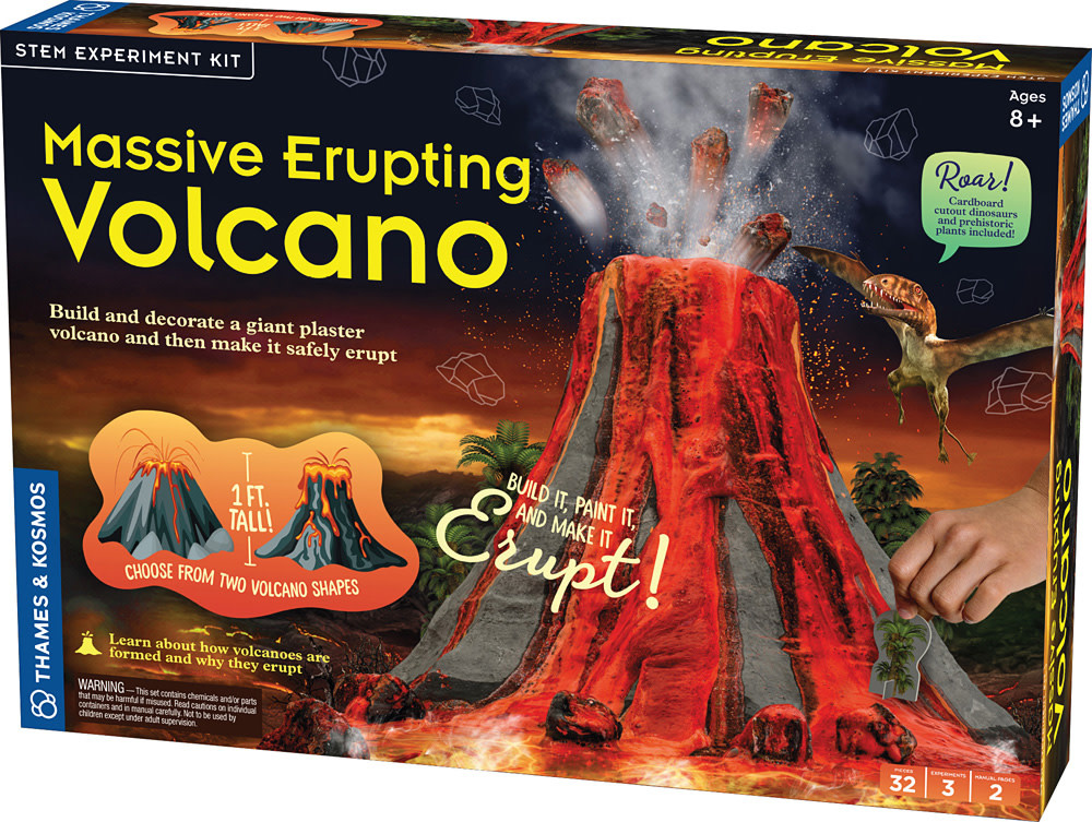 Massive Erupting Volcano-2