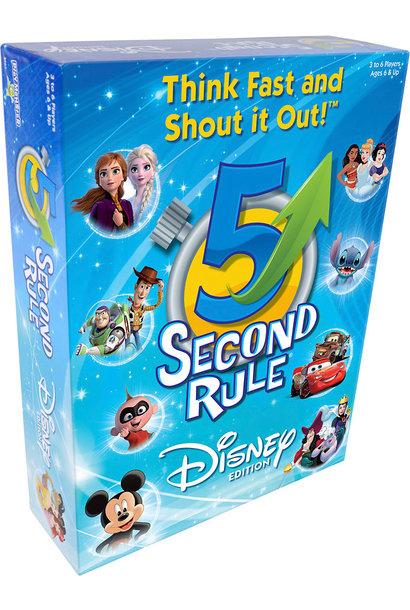 5 Second Rule Disney Game