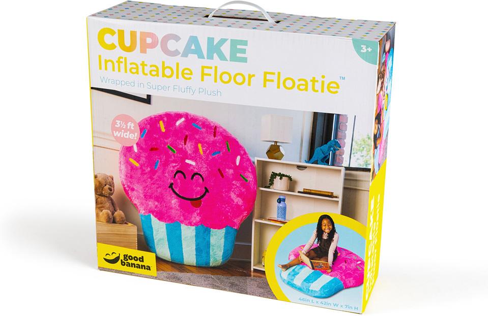 Cupcake Inflatable Floor Floatie-1