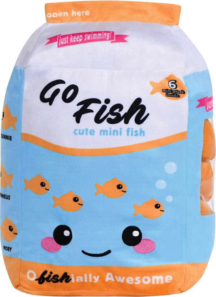 Go Fish Plush and Fleece Pillow-2