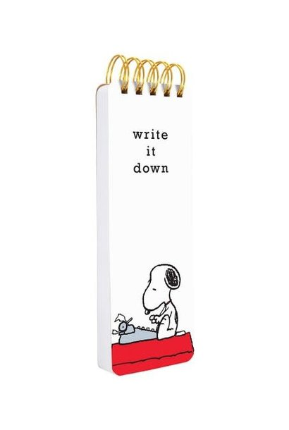 Peanuts Typewriter Reporter Journal