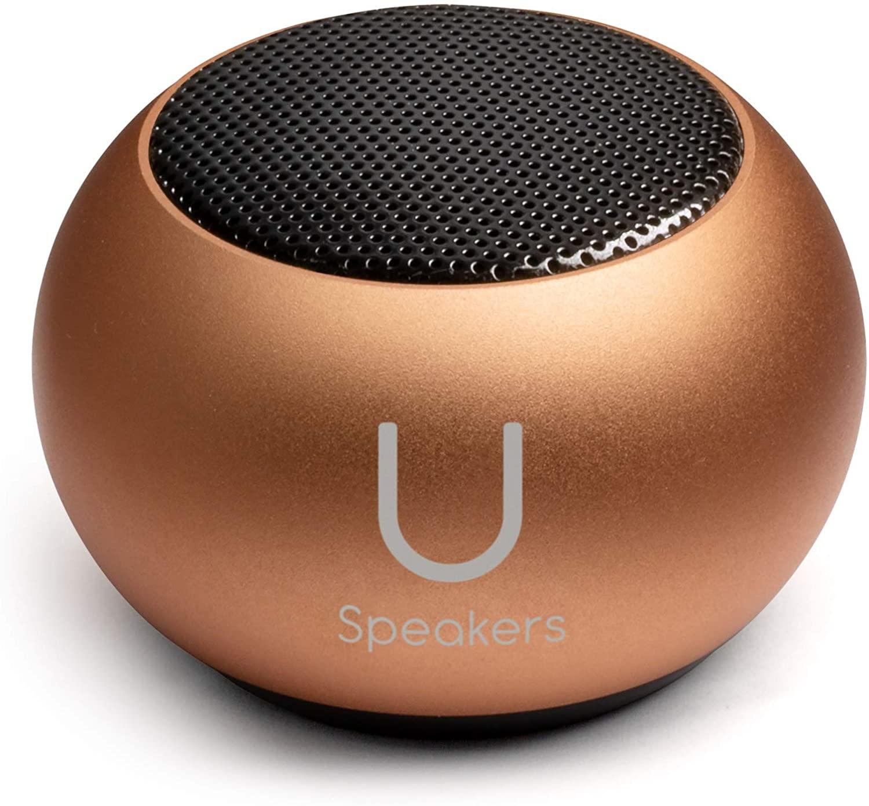 U Mini Speaker Rose Gold Mirror-2
