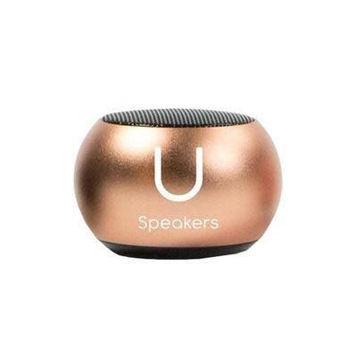U Mini Speaker Rose Gold Mirror-1