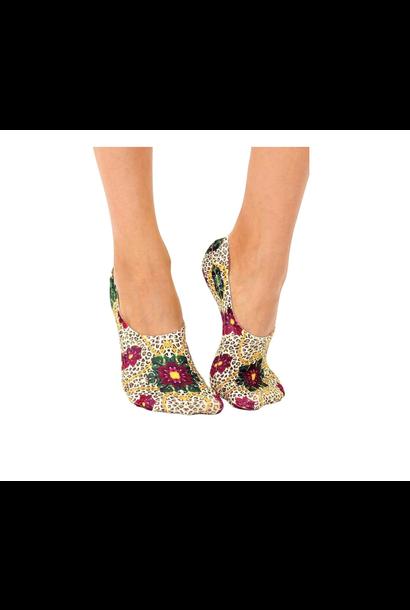 No-Show Liner Socks Royal Cheetah Liner