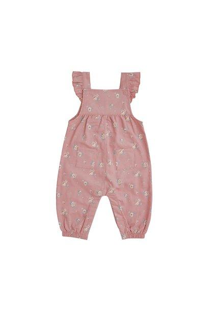 AD Corduroy Overalls Mini Rose Pink