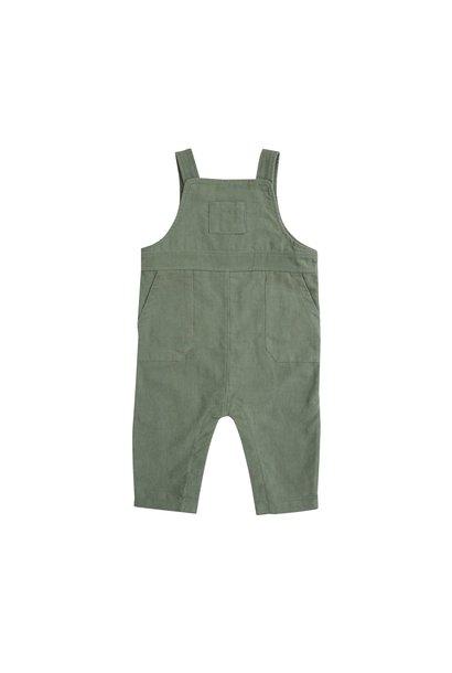 AD Corduroy Overalls Hedge Green