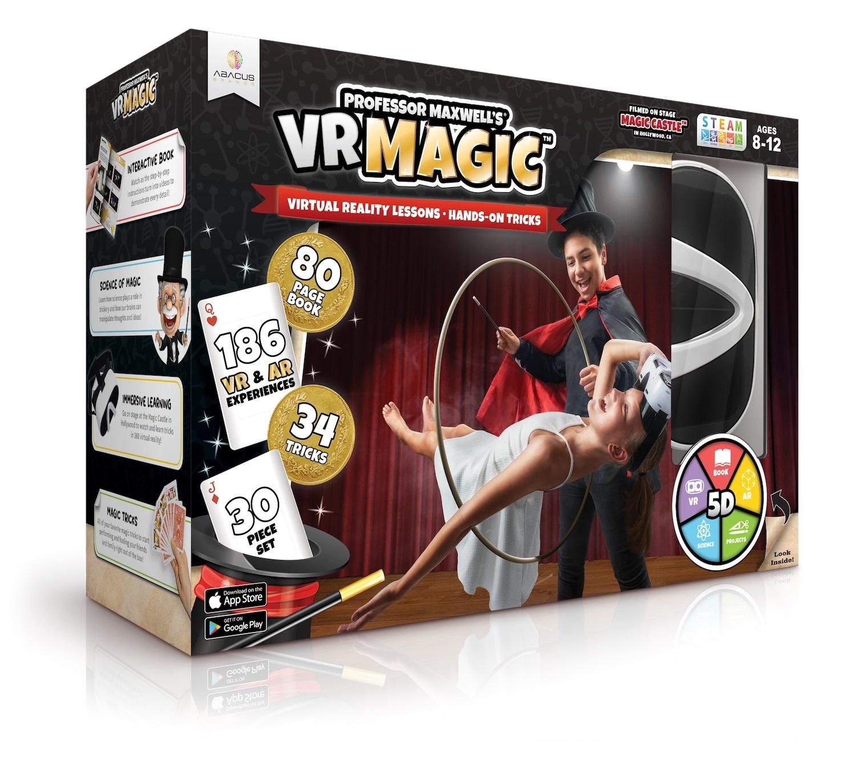 VR Professor Maxwell's Magic-1