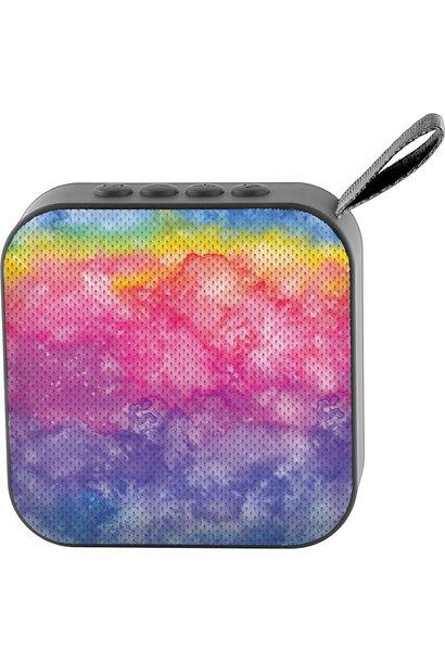 Jamm'd Wireless Speaker Rainbow Tie Dye