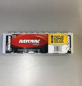 Rayovac 9V 6pk  Batteries