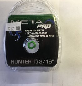 "G5 Outdoors Meta Pro Peep Hunter 3/16"" Green"