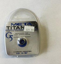 """G5 Outdoors Meta Titanium G5 Peep 5/16"""""""