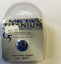 """G5 Outdoors Meta Titanium G5 Peep 3/16"""""""