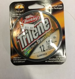 Berkley Trilene Trans Optic 12lb Clear/Gold