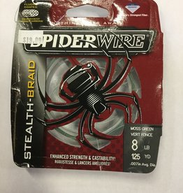 Spider Wire Stealth Braid 8lb Moss Green