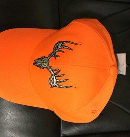Blaze Orange European Mount Cap