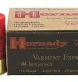 Hornady Varmint Express 12 GA #4 Buckshot