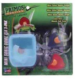 Primos Mini Sonic Dome  Elk 3- Pk Mouth Calls