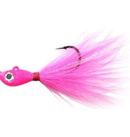 Mustad Big Eye Buck Tail Jig 1oz Pink