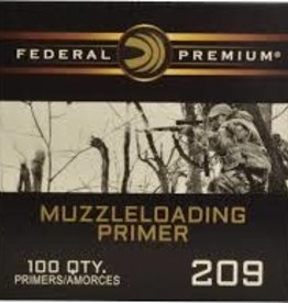 Federal Muzzle Loading Primers 209`