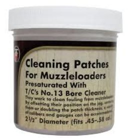 Thompson Center Cleaning patches .45-.58 Cal