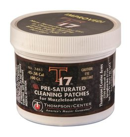 Thompson Center Presaturated Cleaning Patches