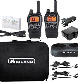 Midland X-Talker Two-Way Radios Deluxe Pack