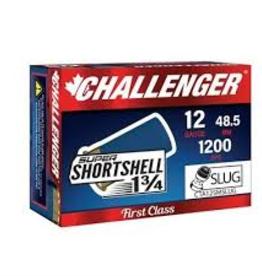 Challenger 12GA 1 3/4 SUPER SHORT 1 0Z SLUG 1200 FPS