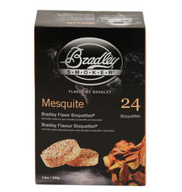 Bradley Flavor Bisquettes 24 Pucks Mesquite