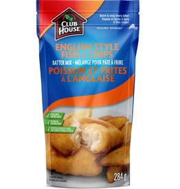 Club House Club House English Style Fish & Chips Batter Mix