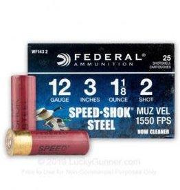 """Federal 12 Gauge 3"""" 1 1/8oz  #2 Shot"""