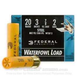 """Federal 20 GAUGE 3"""" # SHOT STEEL"""