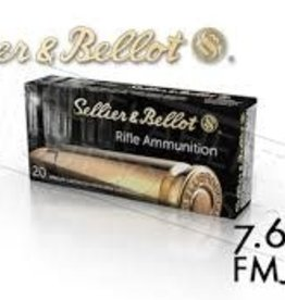 Sellier & Bellot 7,62x25 FMJ 85 Grain
