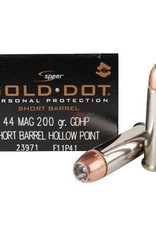 Gold Dot 44 Mag 200 Grain
