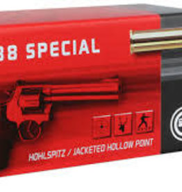 Geco .38 Special 158 Grain Jacketed Hollow Point