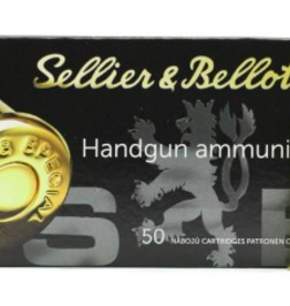 Sellier & Bellot 38 Special 158Gr FMJ