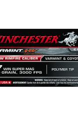 Winchester 17 Winchester Super Mag Varmint 20 Grain