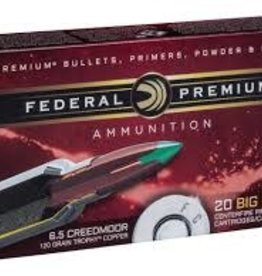 Federal 6.5 CRDMR 120 GR TROPHY COPPER