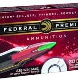 Federal Premium 338 WIN Mag 225 Grain