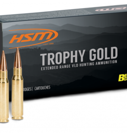 HSM Ammunition TROPHY GOLD 300 WHBY MAG 185 GR HPBT BERGER