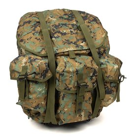 Parklands Camo Canvas Ruck Sack waterproof