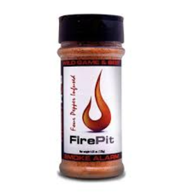 Fire Pit Smoke Alarm Seasoning Rub