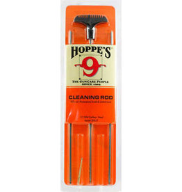 Hoppe's Rifle Cleaning Rod .17 .204 Caliber Steel, 3 Piece, Clam