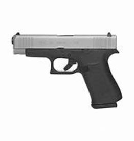 Glock G48 Silver Slide Semi-Auto 9mm
